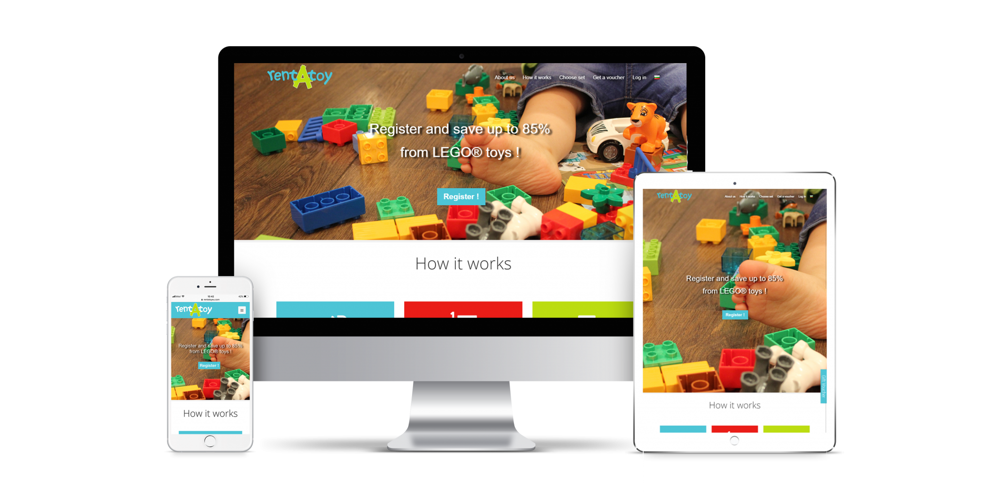 Children toys sharing economy